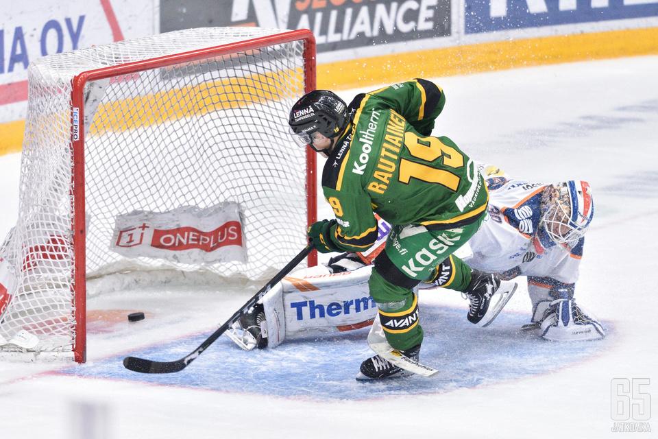 Rautiainen luritti ratkaisuosuman voittomaalikilpailussa.