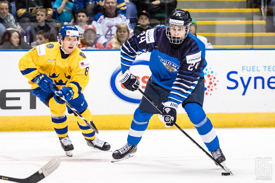 Kaapo Kakko on tullut ryminällä nuorten MM-kisoihin.