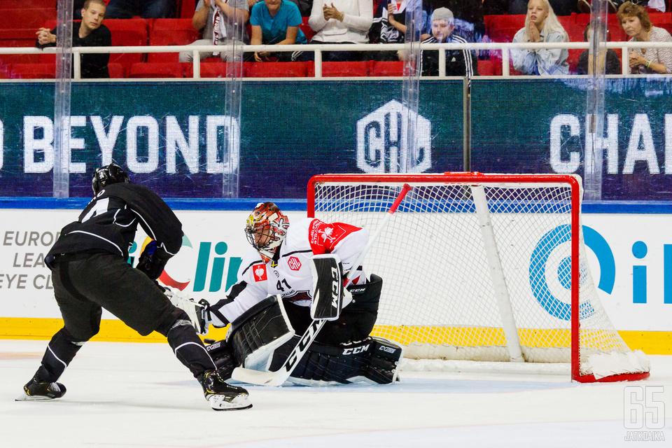 TPS:n 17-vuotias Kaapo Kakko iski uransa toisen CHL-maalin.