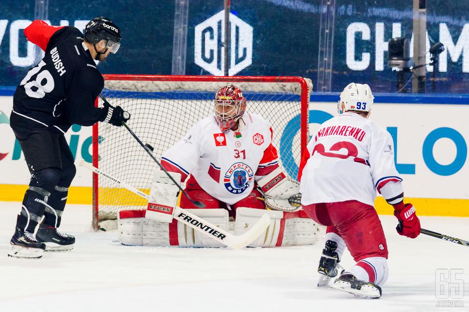 TPS kohtasi Junost Minskin vierasottelussa keskiviikkona.