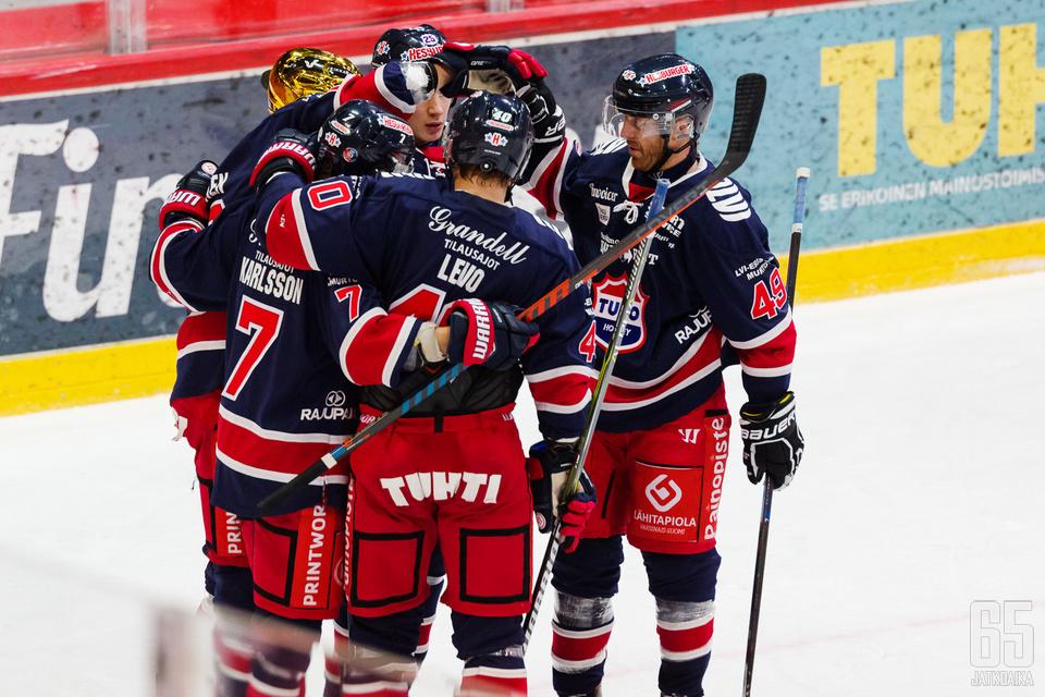 TUTO nousi voitolla Mestiksessä jo kolmannelle sijalle.
