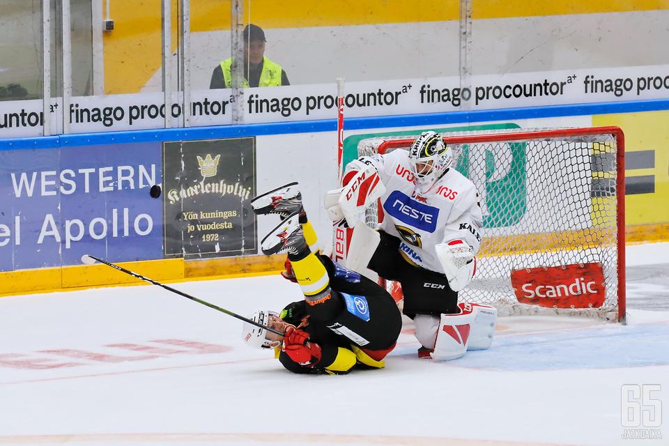Patrik Rybár Oulu All Stars -tapahtumassa.