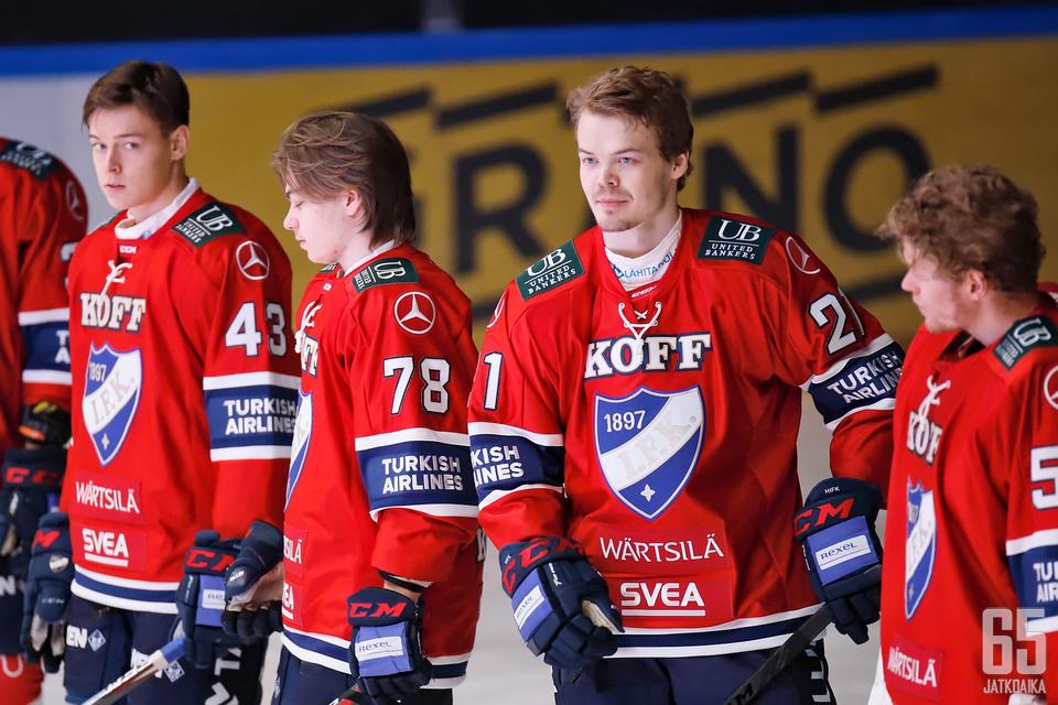 Ville Leskinen debytoi tänään HIFK-paidassa, ja helsinkiläiset nappasivat kauden kolmannen voittonsa oululaisista.