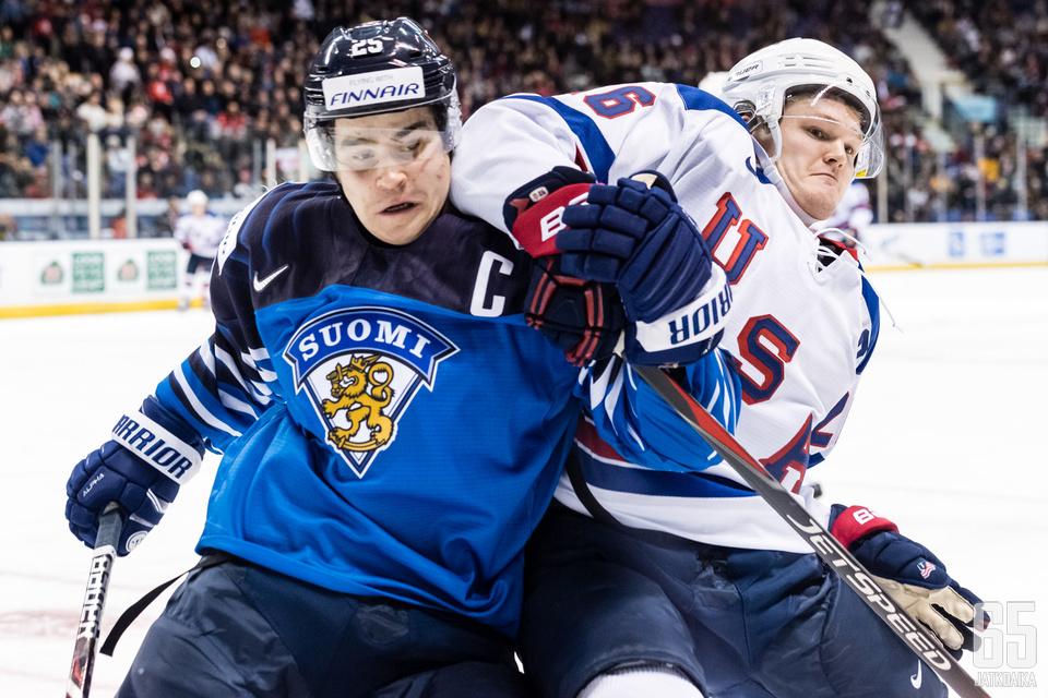 Kapteeni on ollut Suomen tehokkain pelaaja.