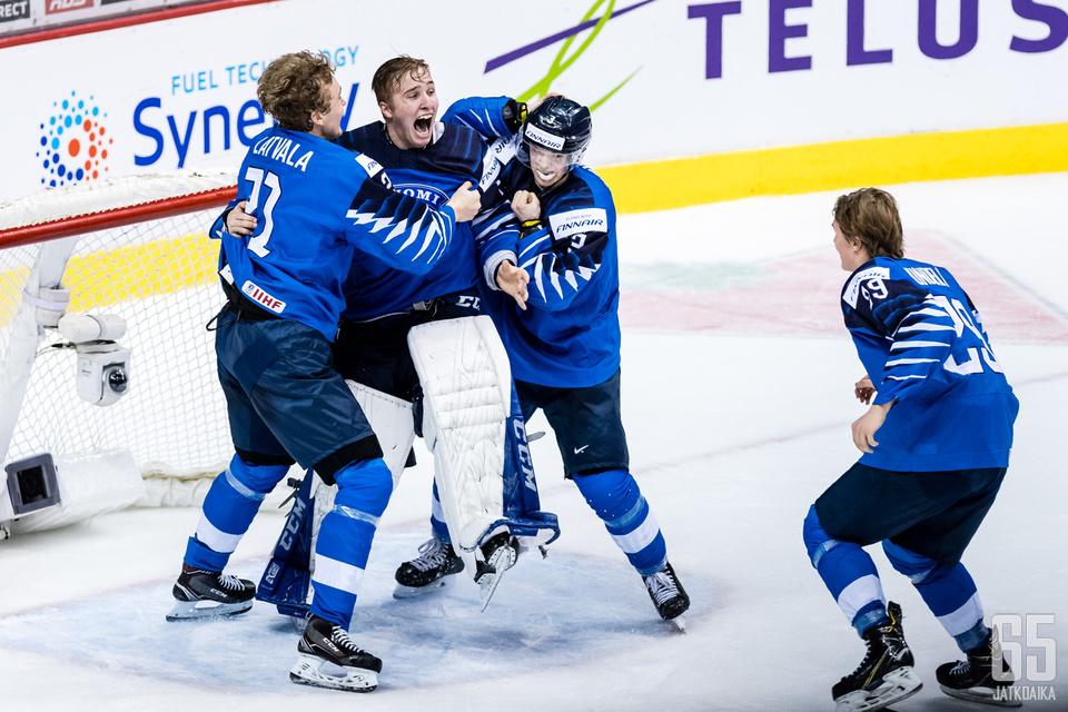Ukko-Pekka Luukkonen oli ottelun hahmoja.