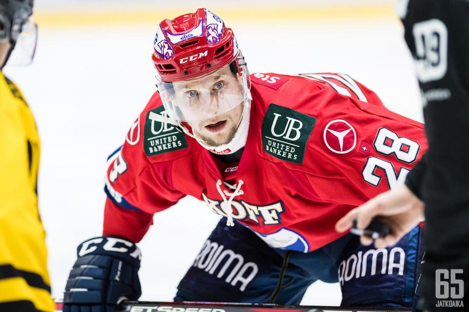 Ikonen pelasi viime kaudella HIFK:n lisäksi Kärpissä.