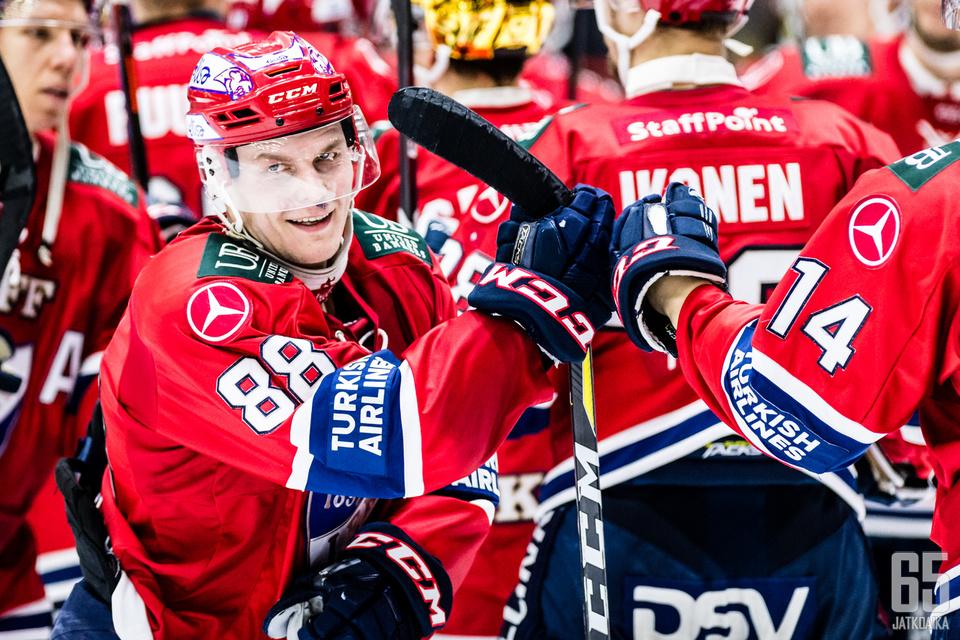 Rask ei ole mukana sarjan kolmannessa pelissä Oulussa.