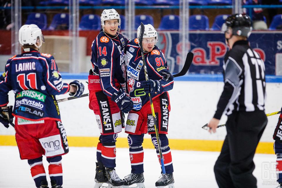 SaPKo eteni neljän parhaan joukkoon Suomen Cupissa.