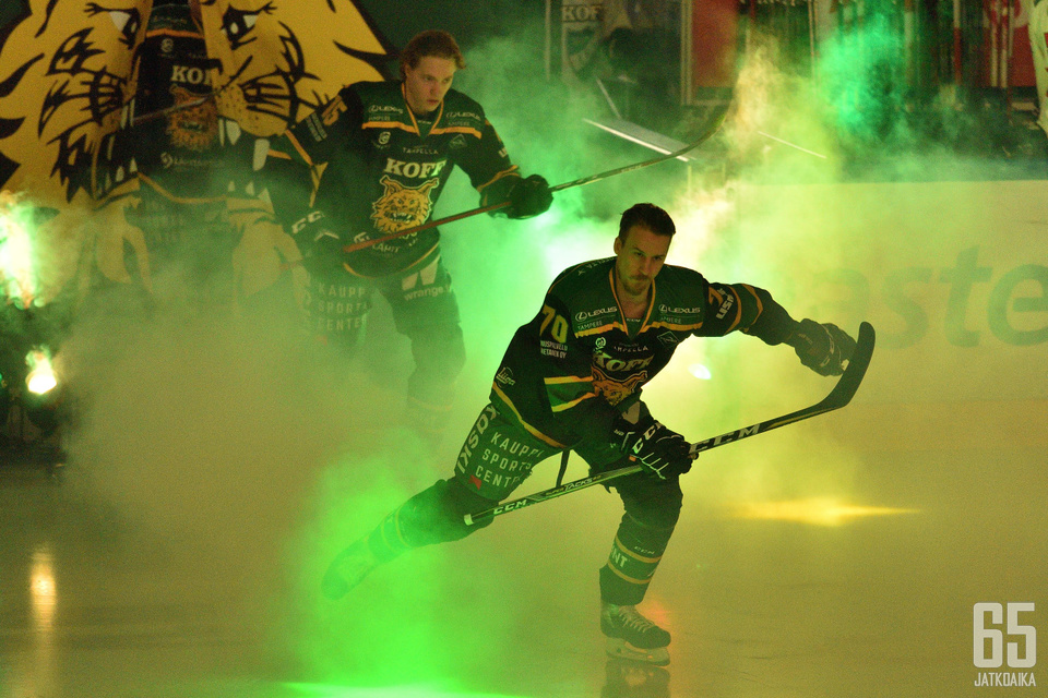 Niko Peltola vuokrattiin Ässistä Ilvekseen tammikuussa.