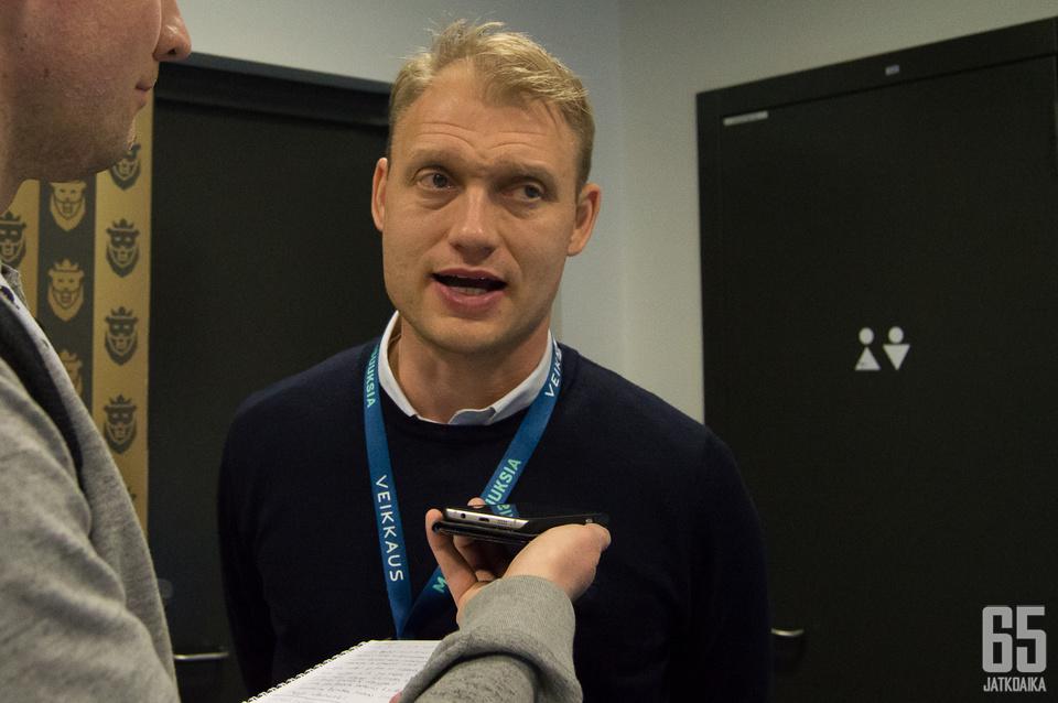 Jussi Markkanen on sekä SaiPan omistaja että toimitusjohtaja.