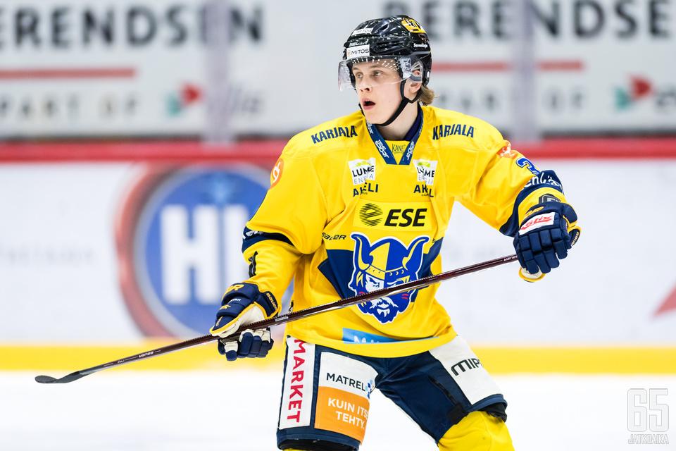 Anttoni Honka on veljessarjansa toinen NHL-varaus.