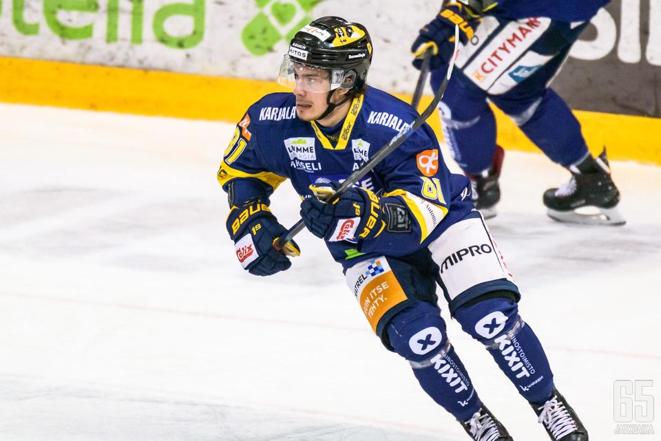 Kristian Tanukselle on tarjolla vastuuta nuorentuneessa jukurijoukkueessa.
