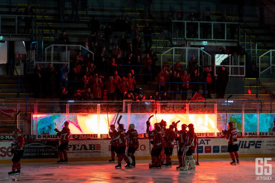 Sportin kausi 2018-19 päättyi niukasti runkosarjaan.