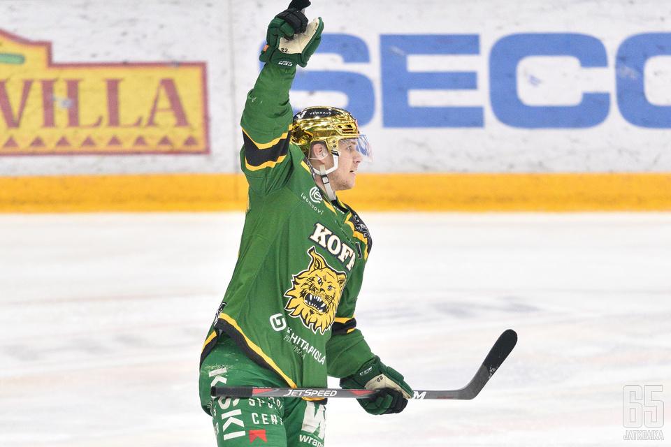Ruotsalainen pelasi Ilveksessä vahvan kauden.