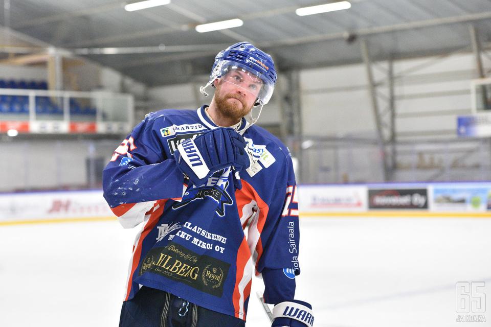 Laakso on kuulunut koko LeKi-uransa ajan joukkueen kapteenistoon.
