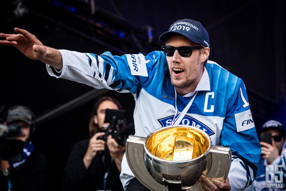 Marko Anttila oli viime kevään MM-kultajoukkueen kapteeni.