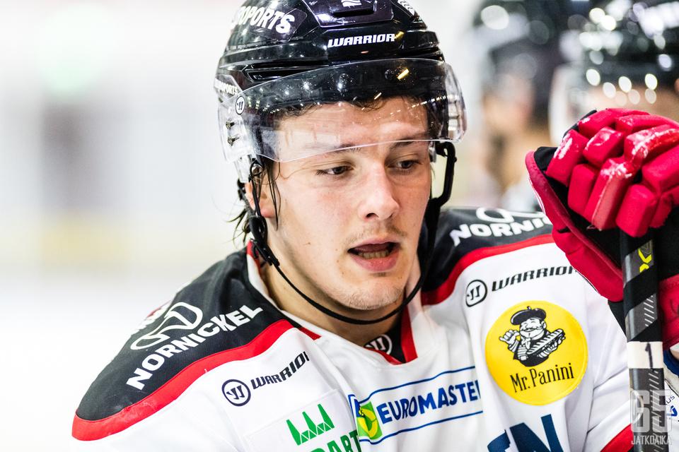 Hyökkääjä Valtteri Pihlajamäki on sivussa vähintään kuusi viikkoa.