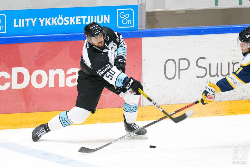 Juhamatti Aaltonen oli pelipäällä Mikkelissä.