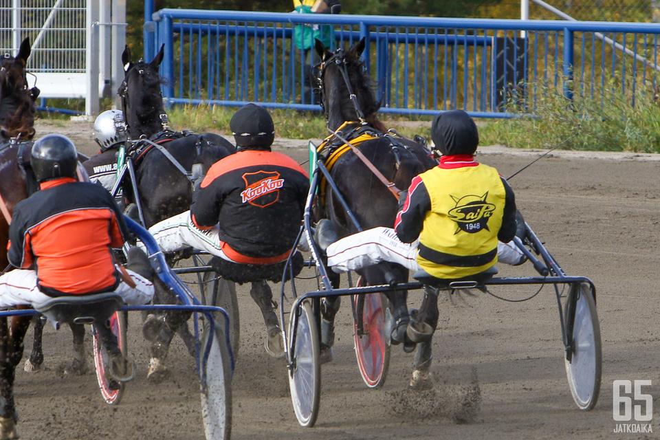 Raviliigan hevoset ovat nyt kolmevuotiaita. Ne kohtaavat pian useammin samoissa ravilähdöissä.