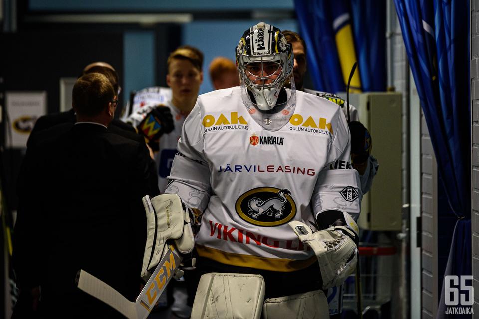 Justus Annunen tilkitsi Kärppien maalia lokakuussa ennätysajan.