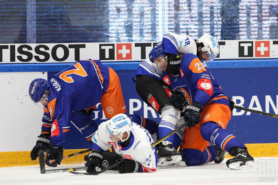 Tappara ja Zug taistelivat nykykiekossa harvinaisen tasapelin.