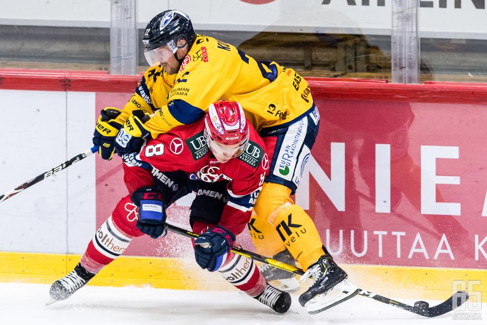 Ville Varakas on ollut HIFK:n puolustuksen johtavia pelaajia.