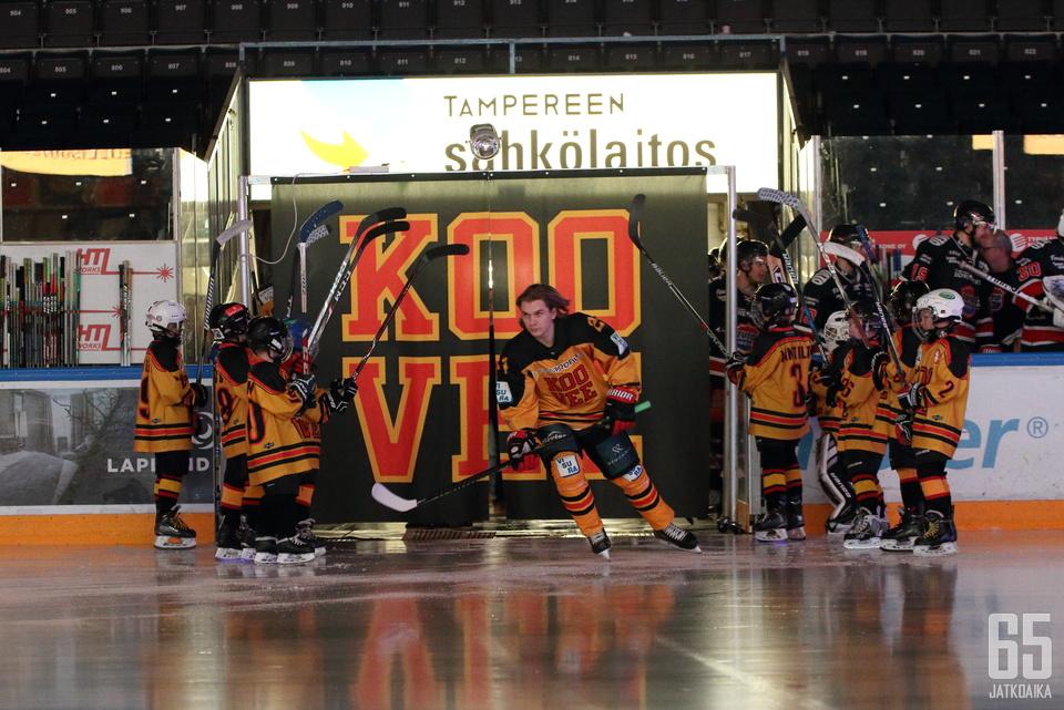 KOOVEE on erittäin perinteikäs urheilu- ja jääkiekkoseura.
