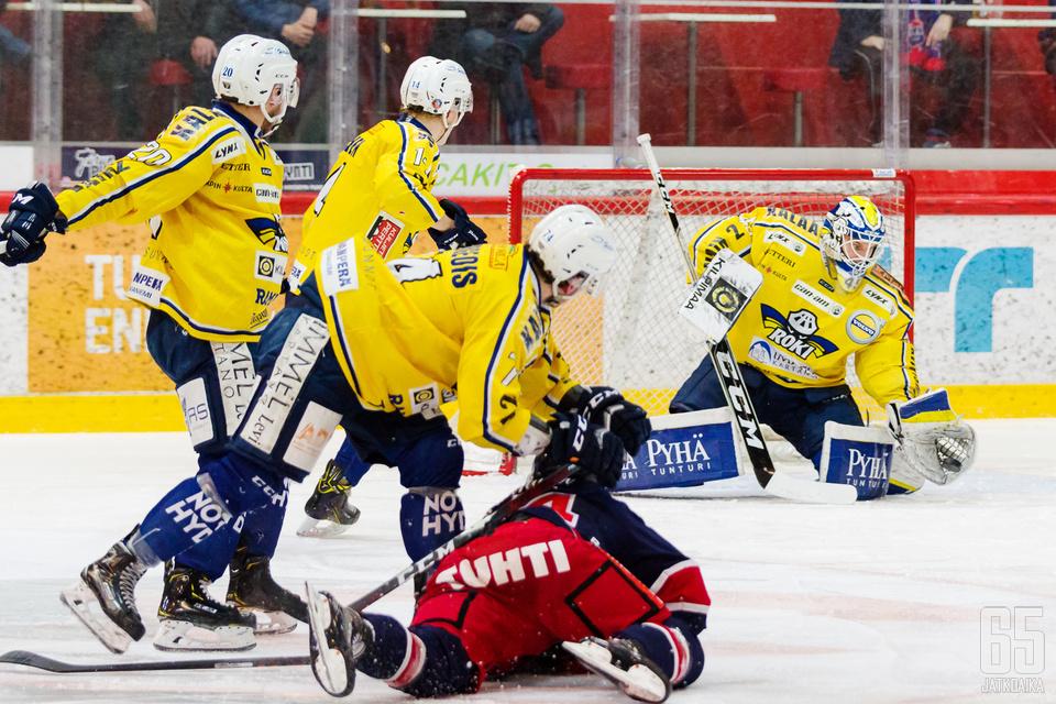 RoKin Rasmus Reijola pelasi upean ottelun.