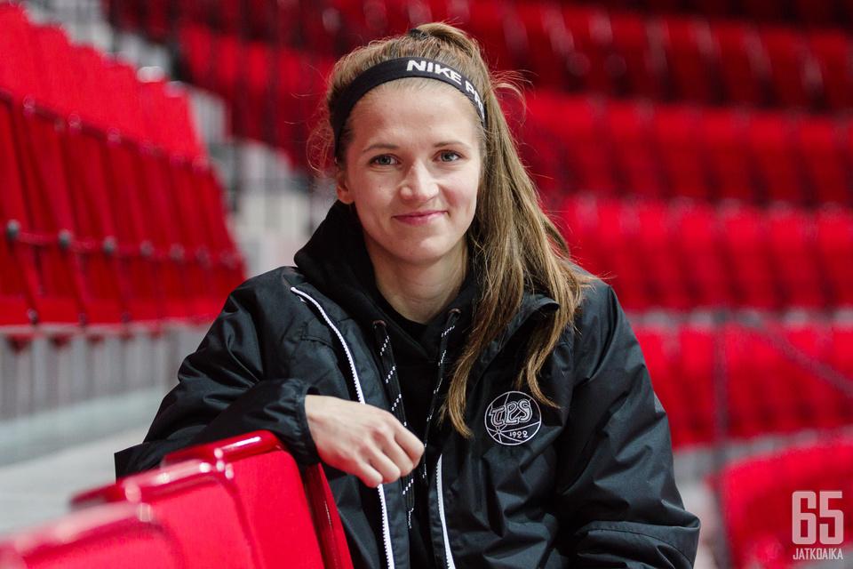 Oulusta Espoon ja Keravan kautta Turkuun muuttanut Jonna Moilanen on yhtä hymyä päätöksestään muuttaa paikkakunnalle.