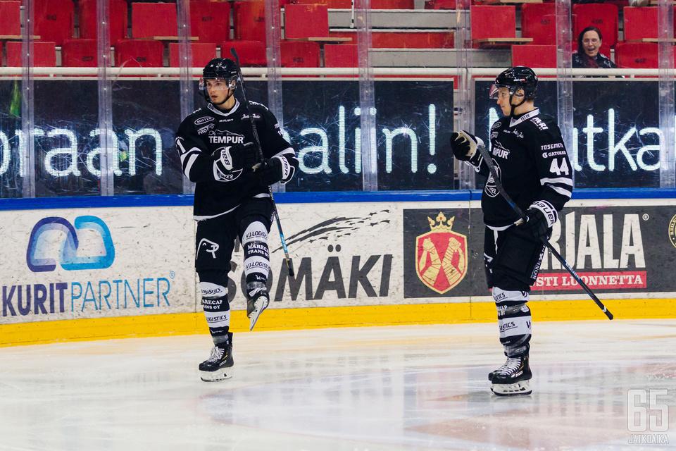 Kertaalleen sai Markus Nurmi tuuletella maaliaan Ilvestä vastaan.