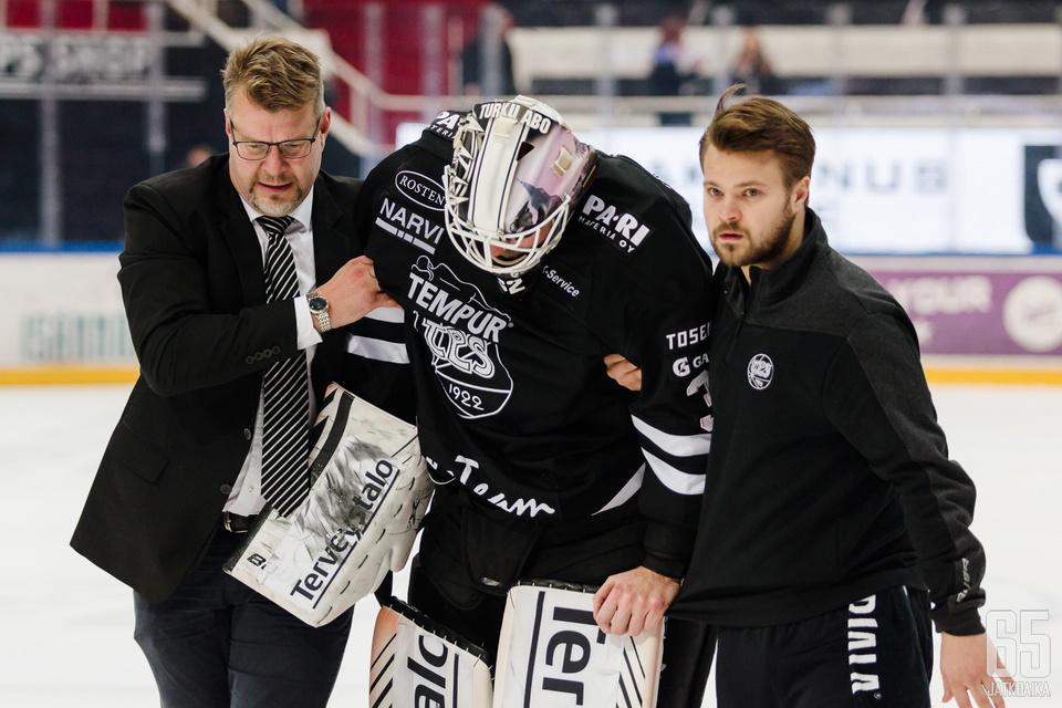 Rasmus Tirronen ei pelannut viikon kahden aiemmassa ottelussa pienen loukkaantumisen vuoksi.