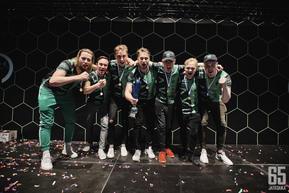 HAVU Gaming voitti Suomen mestaruuden Assemblyilla.