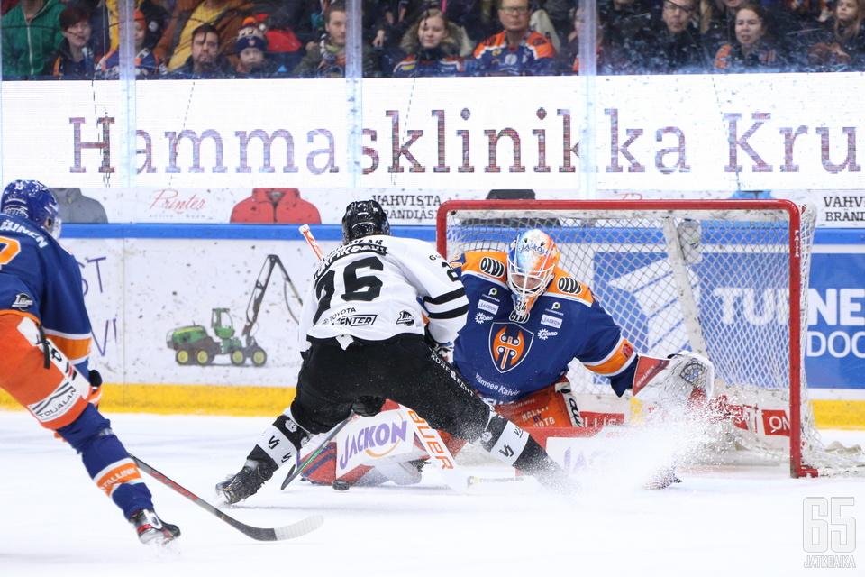Lauri Korpikoski iski ottelun voittomaalin läpiajon päätteeksi.