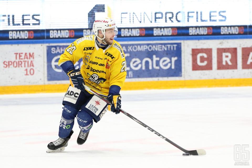 Yksi jatkajista on kuvan Rasmus Smedberg.