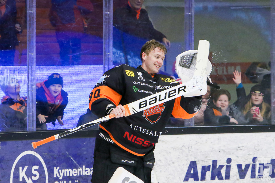 KooKoo-veskari Henrik Haukeland oli Hämeenlinnan illassa selkeä ykkösnimi.