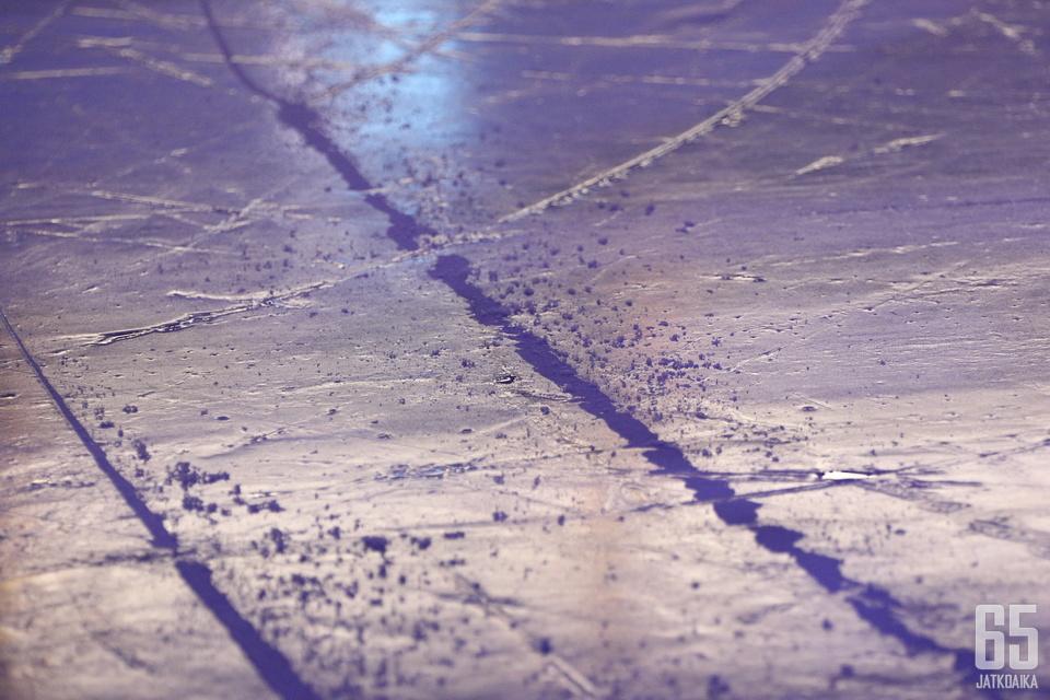 """""""Nordiksen"""" jää on rikki. Arkistokuva."""