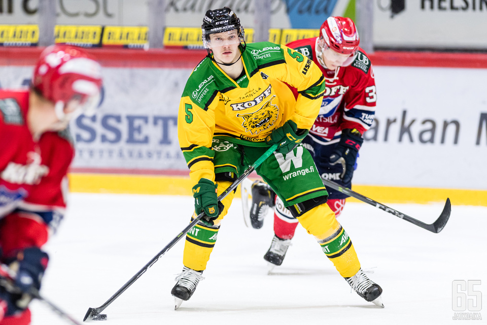 Laaksonen sai NHL-sopimuksen.
