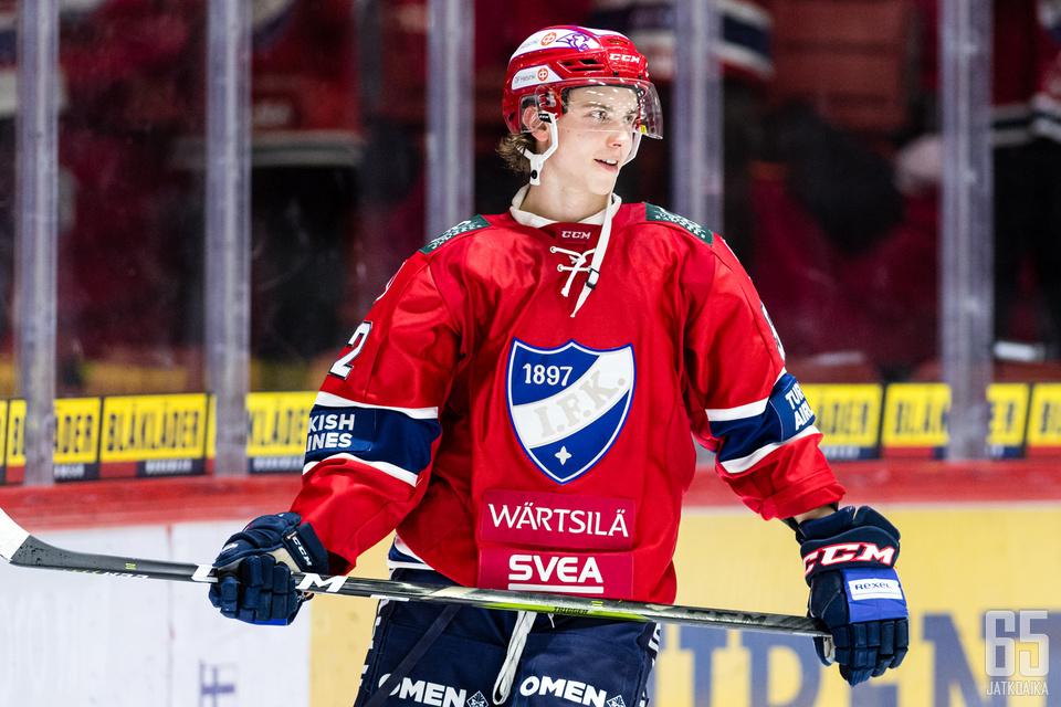 Brad Lambert pääsi pelaamaan viime kaudella IFK:n liigamiehistössä neljä ottelua.