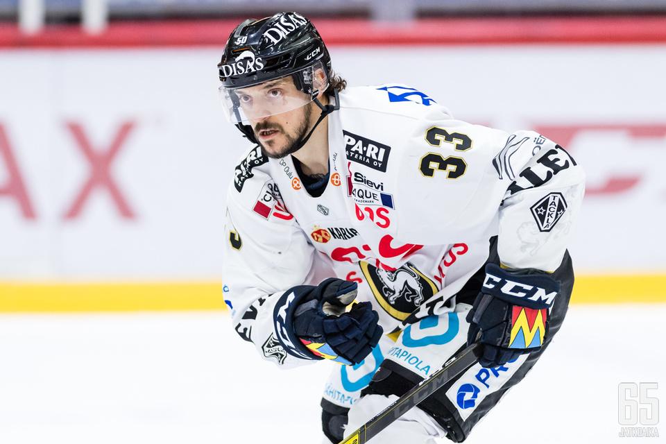 Juhamatti Aaltonen on tämän hetken nimekkäimpiä pelaajia vapailla markkinoilla.
