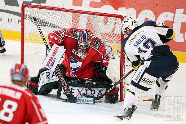 Jari Sailio on HIFK:n uusin Blues-taustainen pelaaja.