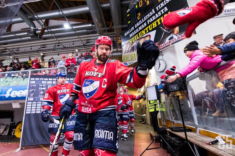 HIFK:n ei jatkossakaan tarvitse huolehtia Mestikseen putoamisesta.