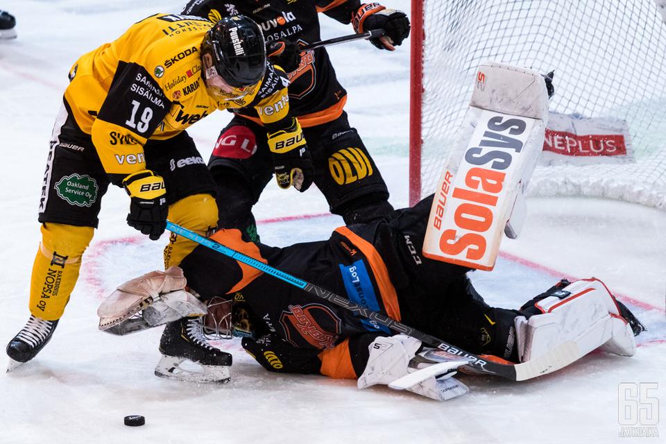 Järvenpää sai tehdä nollapelinsä eteen täyden päivätyön.