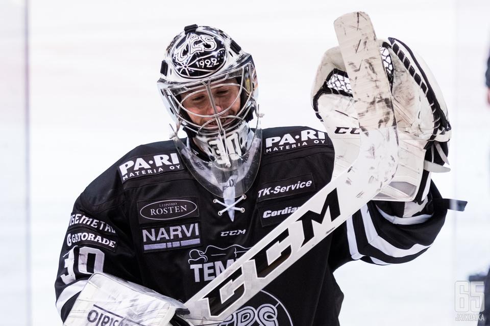 Henrik Haukelandin Turun visiitti jäi yhden kauden mittaiseksi