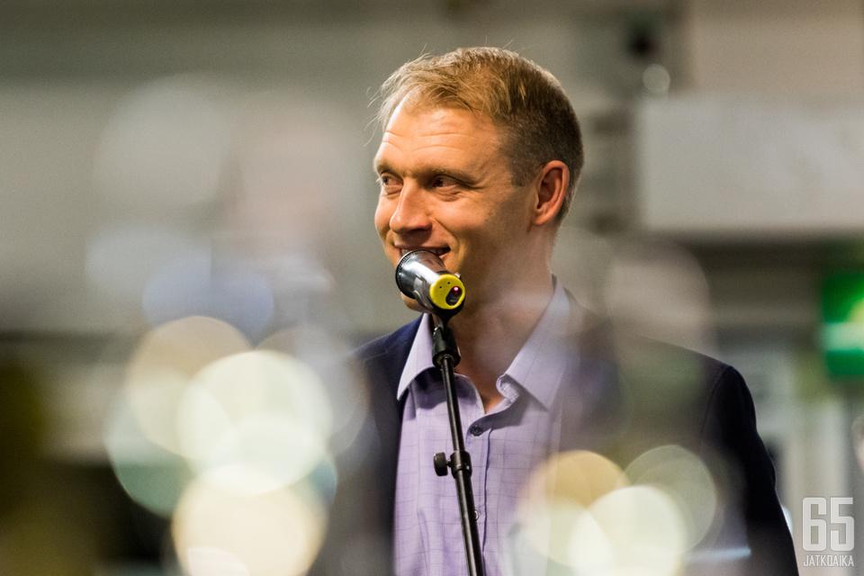 Jussi Markkanen piti Tallinnan-matkaa hyvänä verkostoitumistapahtumana.