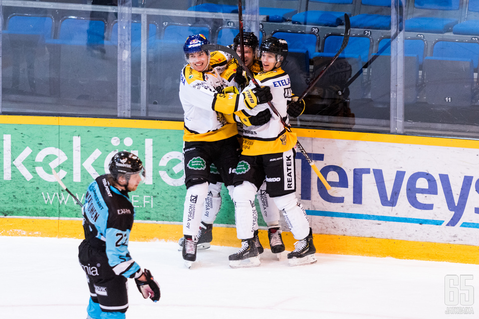 SaiPa nousi kanveesista ottelun voittoon.