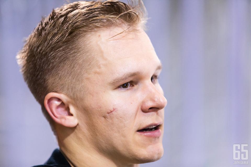 Jan-Mikael Järvinen meni kaudeksi 2019−2020 Saksaan kahdeksan Tappara-kauden jälkeen.