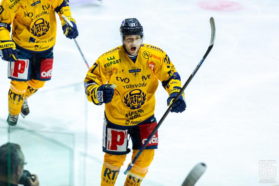 Pathrik Westerholm iski Lukon toisen maalin.