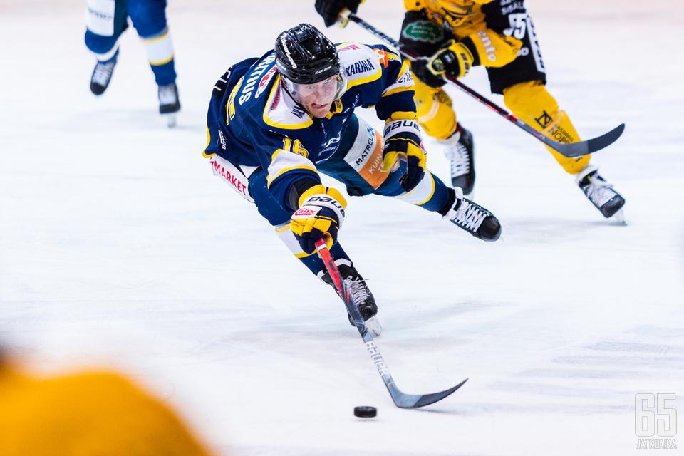 Teemu Henritius ja Jukurit kurottivat voittoon tasaisessa ottelussa.