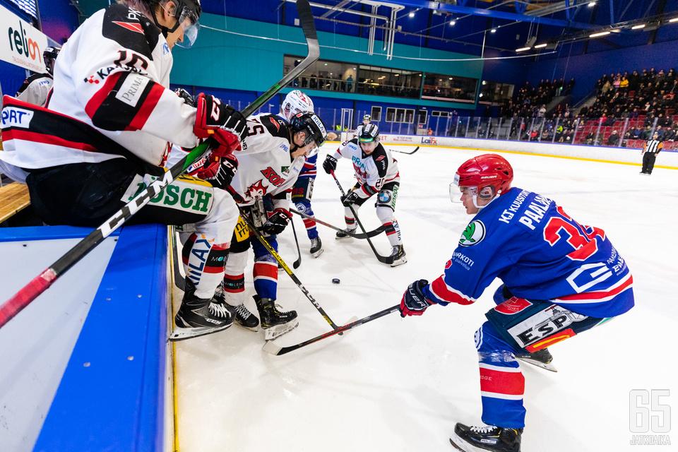 Ketterä ja Jokipojat vääntävät keskenään Mestis-jäillä myös ensi kaudella.