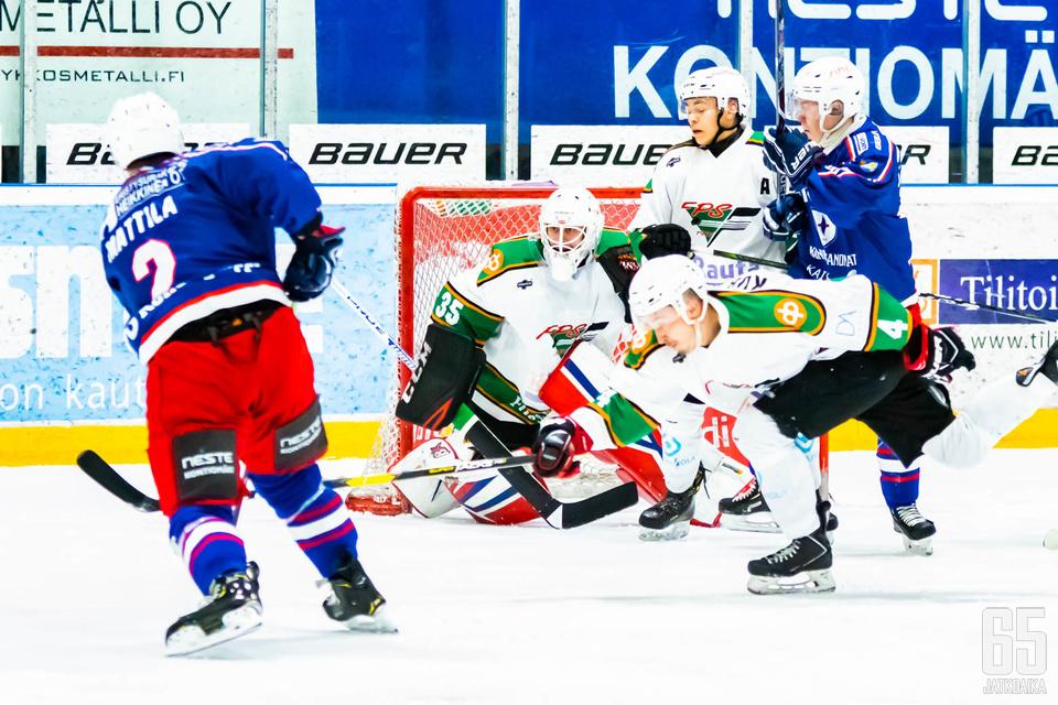 Suomi-sarjan mestaruuden ratkaissut ottelun voittomaali kirjattiin Risto Mattilan nimiin.